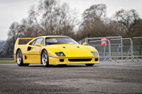 GT Spirit 1:18 Scale Ferrari F40 Yellow