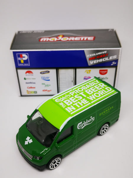 Majorette 1:64 Scale Hong Kong Exclusive Carlsberg Beer VW Crafter