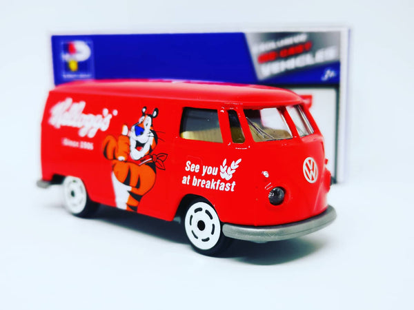 Majorette 1:64 Scale Hong Kong Exclusive Kelloggs VW T1