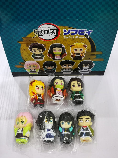 Bandai Demon Slayer Kimetsu no Yaiba Sofubi complete mini figure Set of 7