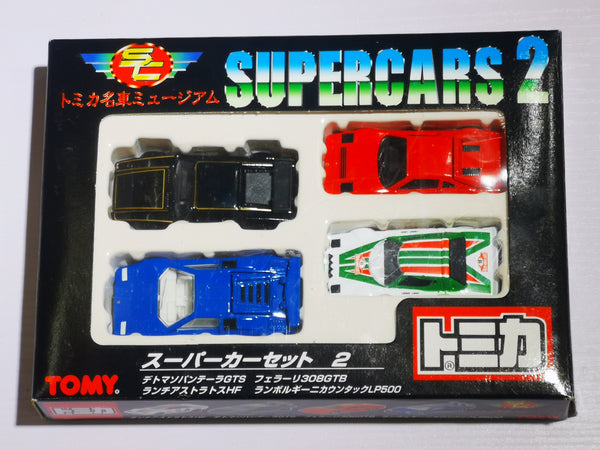 Tomica discontinue 1998 Super Cars 2 Gift Set
