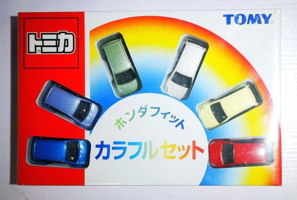 Tomica Gift Set 2002 Honda Fit/Jazz set of 6 color