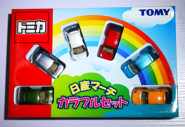 Tomica Gift Set 2002 Nissan March set of 6 color