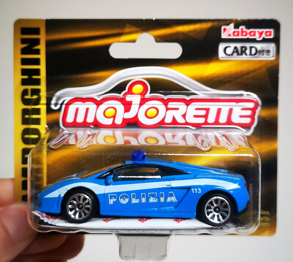 Majorette 1:64 Scale Japan Exclusive Lamborghini Gallardo Italy Police Highway Patrol Polizia
