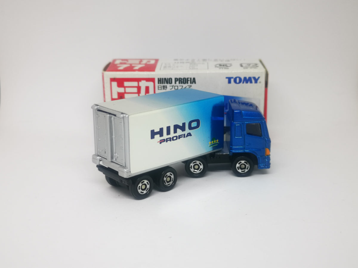 blister fromJAPAN Tomica No.77 Hino Profia