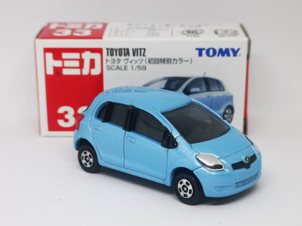 Tomica No.33 Toyota Vitz 1st edition 1:59 scale