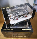 Damaged Stance Garage Lamborghini Aventador LB Works 1:64 Scale