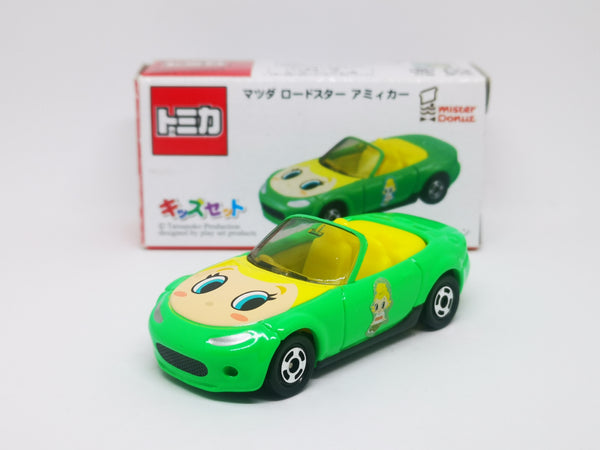 Tomica X Mister Donut exclusive Mazda MX-5 Roadster NC