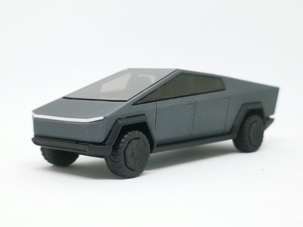 The Project 3D printed Tesla Cyber Truck 1:64 SCALE