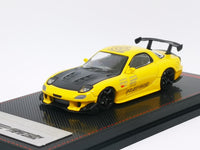 Ignition Model 1:64 Scale Mazda RX7 FD3S RE Amemiya Yellow