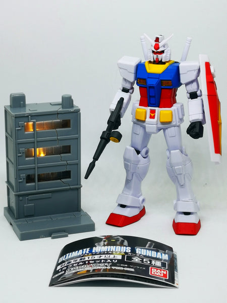 Bandai Capsule Gashapon Capsule Gashapon Ultimate Luminous Gundam