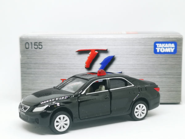 Tomica Limited No.155 Toyota Mark X unmarked Police Car