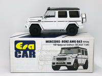 Era Car 24 1st edition Mercedes-Benz G63 AMG Scale 1:64 White