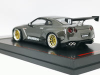 Ignition Model 1:64 Scale Pandem Nissan GT-R (Gun Metallic)