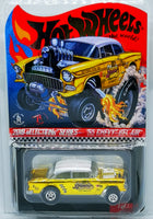 2019 Hotwheels sELECTIONs 55' Chevy BEL AIR Gasser Dirty Blonde
