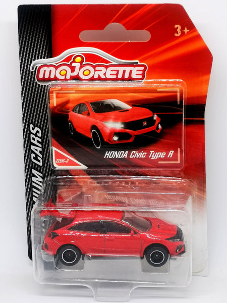 Majorette 1:64 Scale Honda Civic TypeR FK8 Red