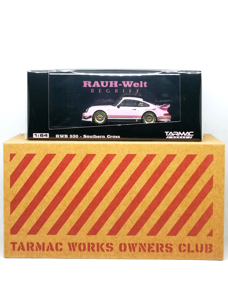Tarmacworks Owners Club Car Porsche 930 RWB Southern Cross 1:64 Scale