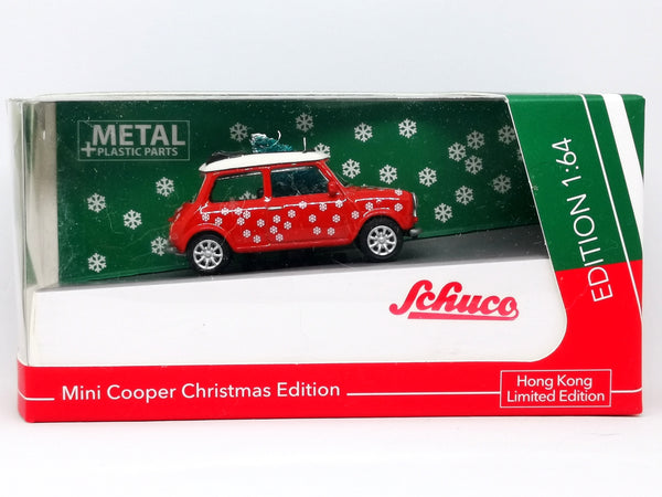 Schuco 1:64 Scale Mini Cooper Christmas Edition Hong Kong Exclusive