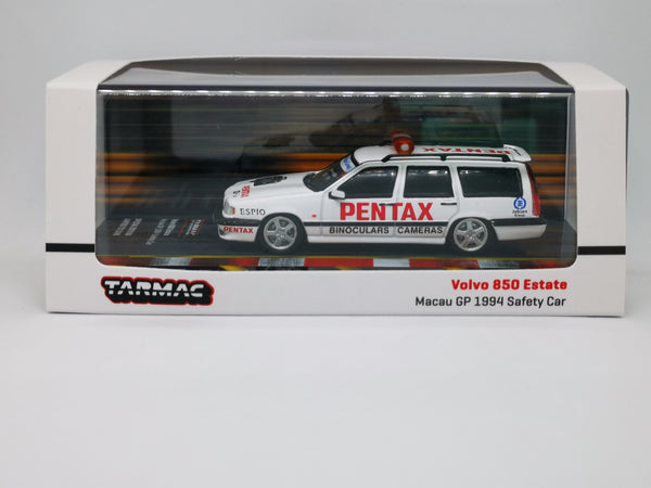 Tarmacworks Scale 1:64 Volvo 850 estate Macau GP Safety Car