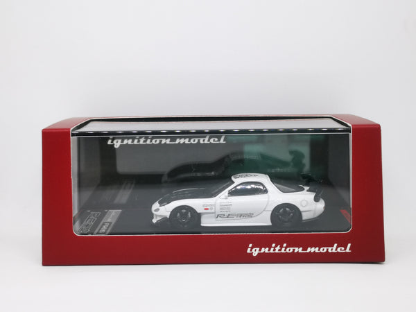Ignition Model 1:64 Scale Mazda RX7 FD3S RE Amemiya White