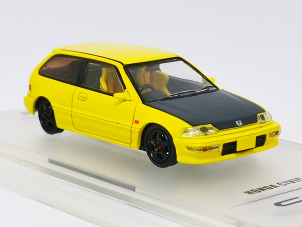 Inno64 Honda Civic EF9 (Yellow) Malaysia Exclusive