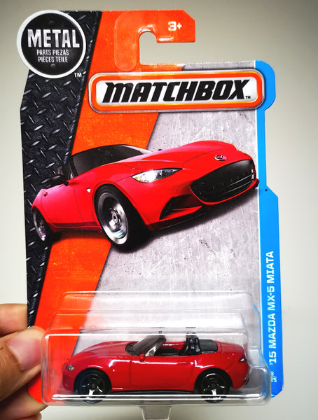 Matchbox Mazda MX5 ND 1:64 SCALE