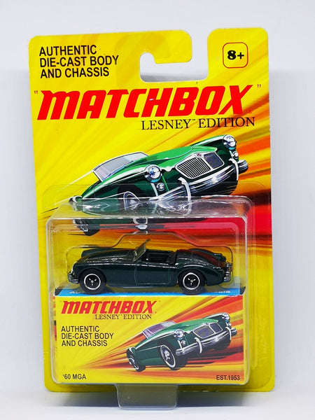 Matchbox MG MGA British Racing Green Scale 1:64