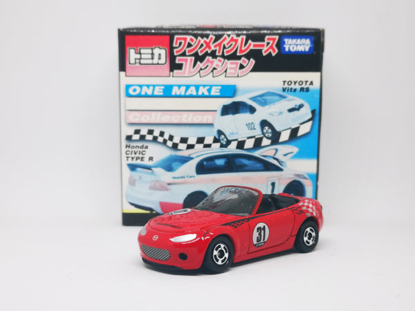 Tomica One Make Race Collection Mazda MX-5 Roadster NC Red