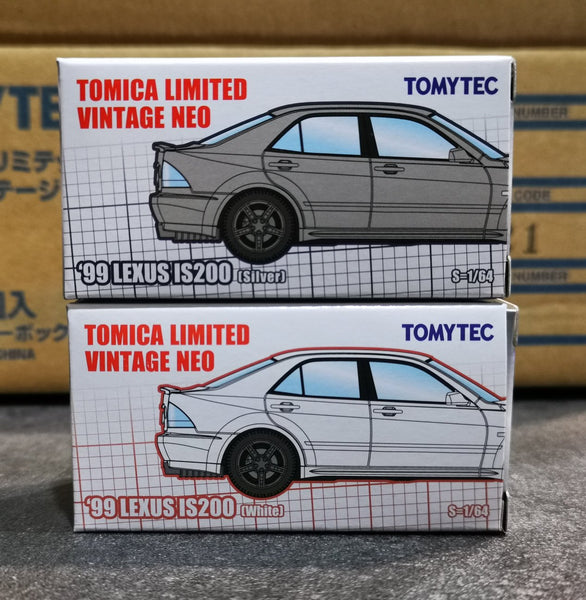 Tomica Limited Vintage Neo Hong Kong Exclusive Lexus IS200
