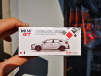 Mini GT #1 Honda CIVIC Type R FK8 Championship White