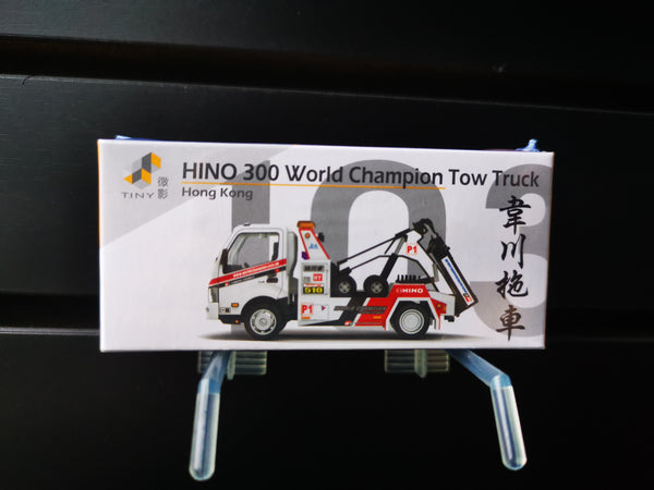 Tiny #103 Hong Kong Hino 300 World Champion Tow Truck