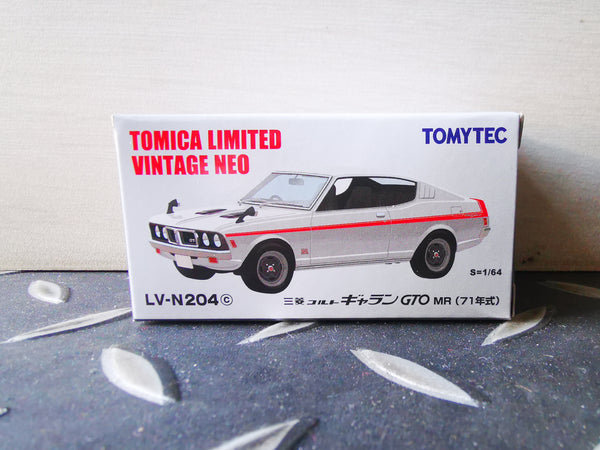 Tomica Limited Vintage Neo LV-N204c Mitsubishi Colt Galant GTO MR