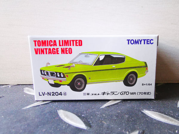 Tomica Limited Vintage Neo LV-N204d Mitsubishi Colt Galant GTO MR