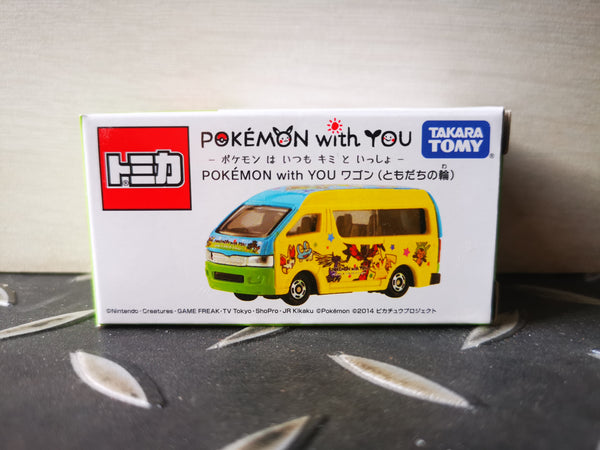 Tomica Pokemon Shop Exclusive Pokemon with you Toyota Hiace