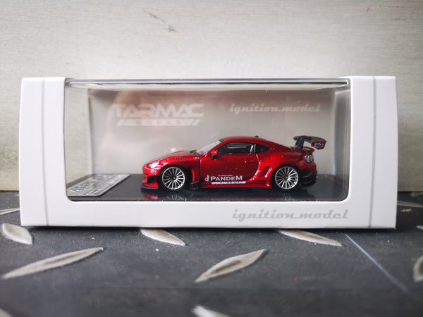 Ignition Model 1:64 Scale Toyota GT86 V3 Pandem Rocket Bunny (Red Metallic)