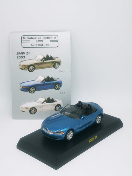 Kyosho 1:64 Scale Miniature Collection of BMW Automobiles BMW Z4