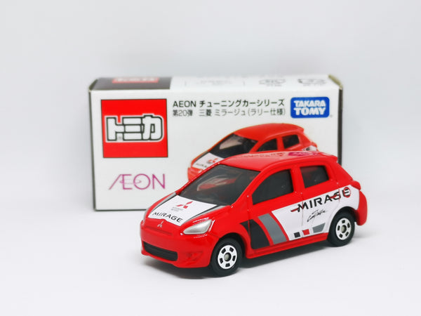Tomica Aeon Mall Exclusive Vol.20 Mitsubishi MIRAGE Rally