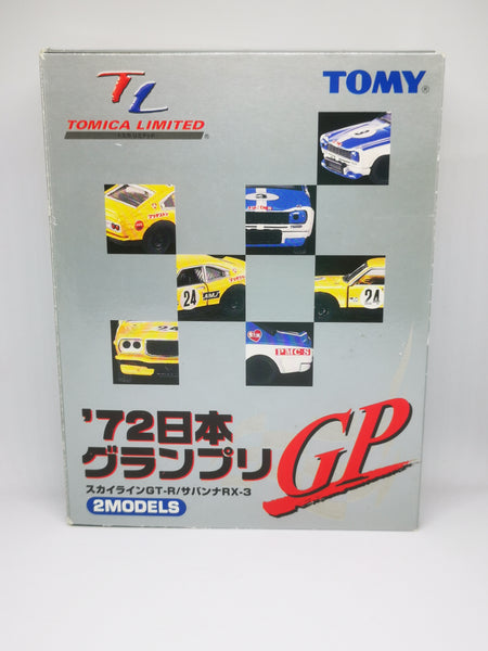 TOMICA LIMITED '72 JAPAN GP NISSAN SKYLINE GT-R/MAZDA RX-3