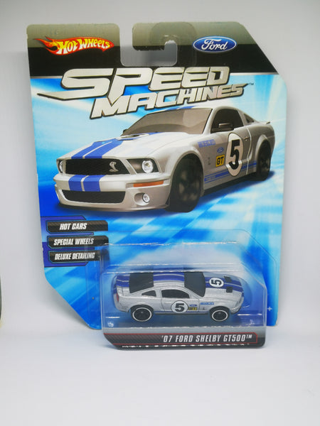 Hotwheels Speed Machines '07 Ford Shelby GT500   6 spokes