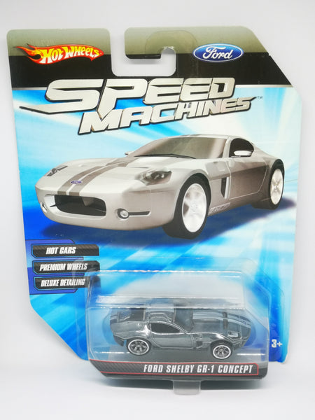 Hotwheels Speed Machines Ford Shelby GR-1 Concept   6 spokes