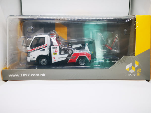 Tiny 1:43 Hong Kong Hino 300 World Champion Tow Truck