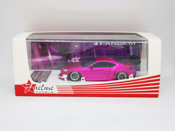 Fuel Me Model 1:64 Scale Toyota 86 NZ6 Pandem Rocket Bunny 3.5 (Electronic Pink)