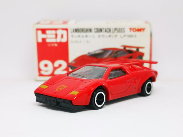Tomica #92 Lamborghini Countach LP500s Made in Japan