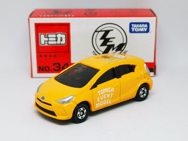 Tomica Event Model #34 Toyota Aqua