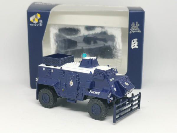 Tiny #60 Hong Kong Royal Police (PTU #96) Saxon Armoured Vehicle