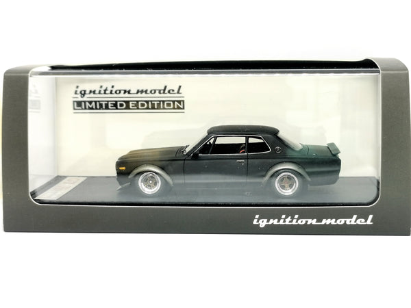 only 65pcs released Ignition Model 1:43 Scale Nissan Skyline 2000 GT-R KPGC10 Matte Black