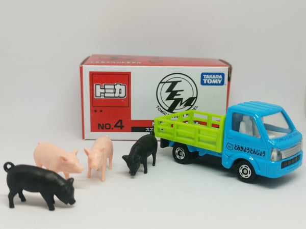 Tomica Event Model #4 Suzuki Carry Cattle Truck