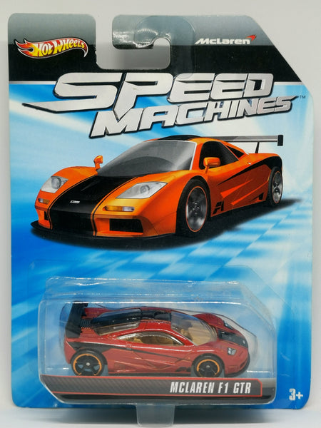 Hotwheels Speed Machines McLaren F1 GTR 5 spokes