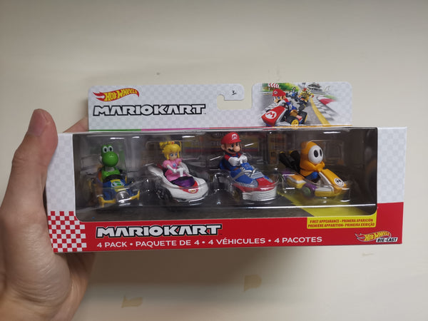 Hot wheels Mario Kart 4 Pack