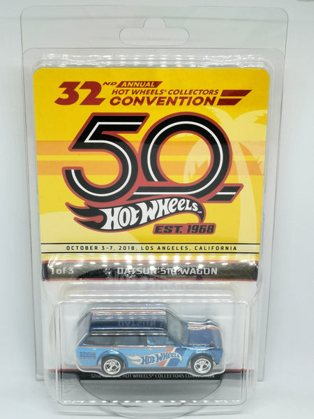Hot Wheels 32th LA Convention Datsun 510 Wagon